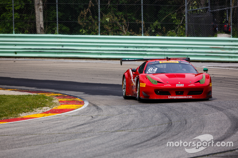 #64 DragonSpeed/ESM Ferrari 458 GT3 Italia: Майк Хедлунд