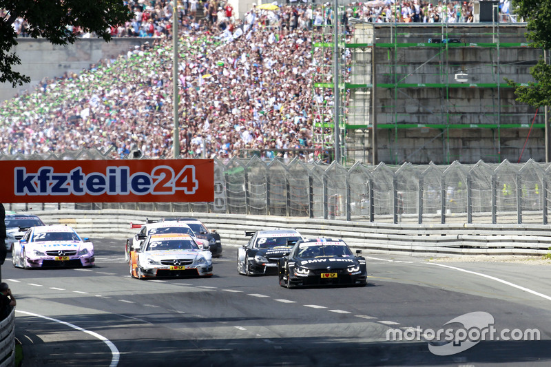 Start: Bruno Spengler, BMW Team MTEK, BMW M4 DTM, in Führung
