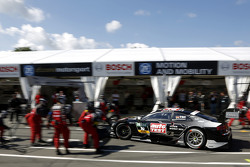 Boxenstopp für Timo Scheider, Audi Sport Team Phoenix, Audi RS 5 DTM
