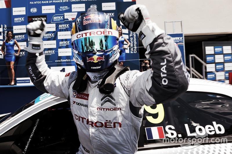Juara balapan Sébastien Loeb, Citroën C-Elysée WTCC, Citroën World Touring Car team