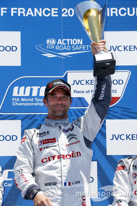 Race winner Sébastien Loeb, Citroën C-Elysée WTCC, Citroën World Touring Car team