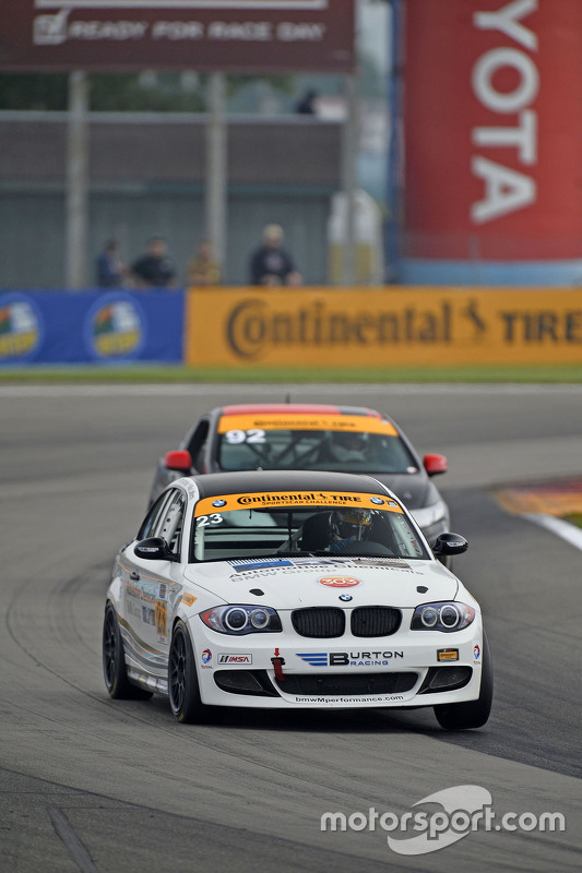 #23 Burton Racing, BMW 128i: Terry Borcheller, Mike LaMarra