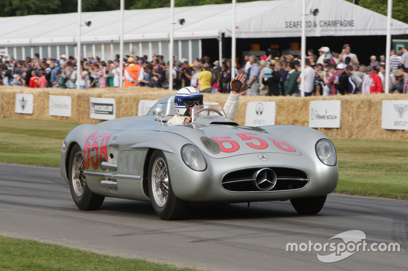 Jochen Mass, Mercedes-Benz 300 SLR 658