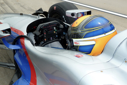 Matthew Brabham prueba un Andretti Autosport IndyCar