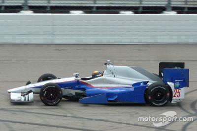 Matthew Brabham Andretti Autosport prueba 2