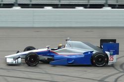 Matthew Brabham testet einen IndyCar von Andretti Autosport