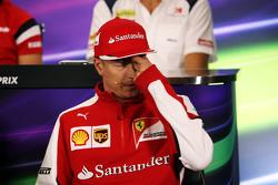 Kimi Raikkonen, Ferrari na coletiva de imprensa da FIA