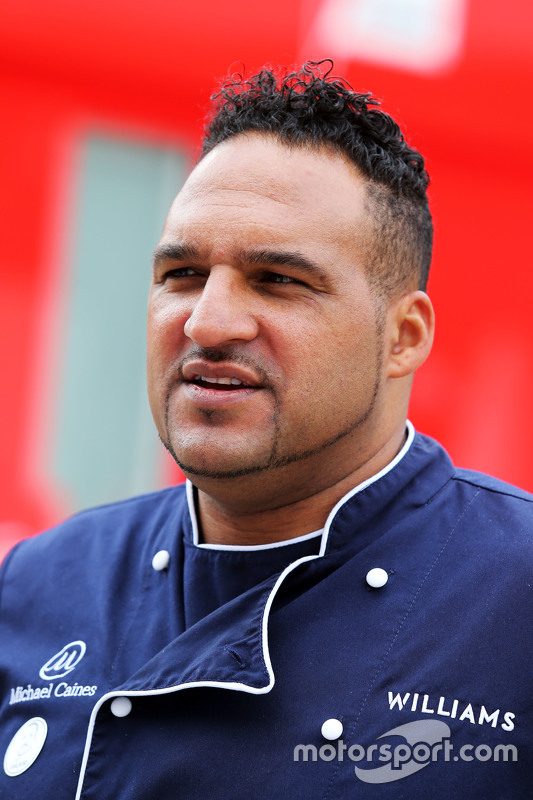 Michael Caines, Williams, VIP-Koch