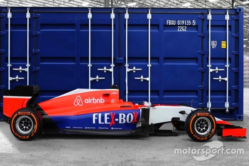 Новая раскраска Manor, накануне Гран При Великобритании