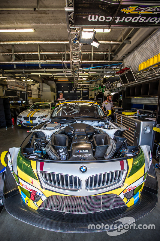 #25 Marc VDS Racing, BMW Z4 GT3