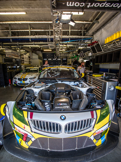 #25 Marc VDS Racing BMW Z4 GT4