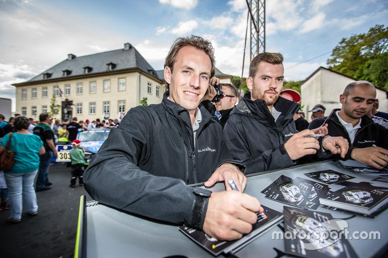 #2 Black Falcon, Mercedes-Benz SLS AMG GT3: Yelmer Buurman, Andreas Simonsen