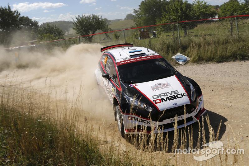 Sander Parn und James Morgan, Ford Fiesta R5