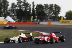Alex Palou, Campos Racing, und Kevin Ceccon, Arden International