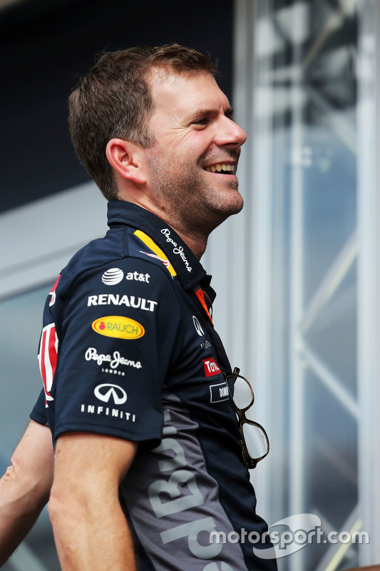 Dominik Mitsch, Red Bull Racing Head of Marketing