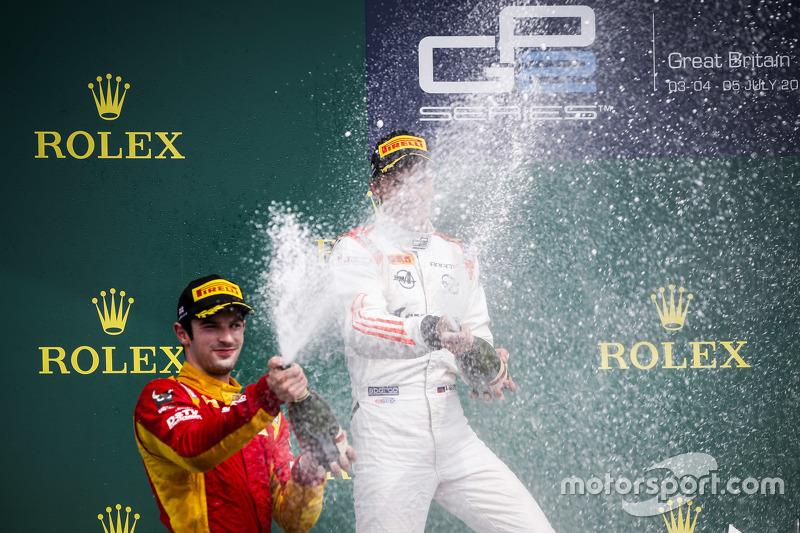 Podium: 1. Sergey Sirotkin, Rapax; 2. Alexander Rossi, Racing Engineering