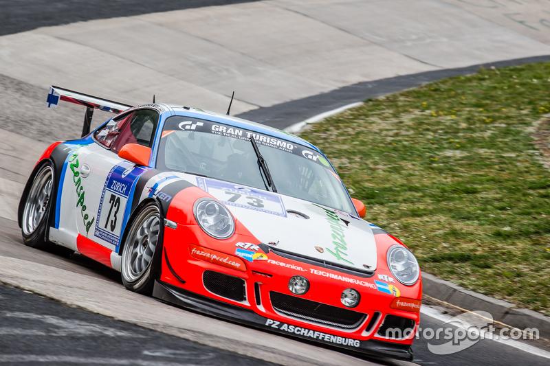#73 Teichmann Racing Porsche 997 GT3 Cup: Torleif Nytroeen, Morten Skyer, Antti Buri, Kari-Pekka Laakсинen