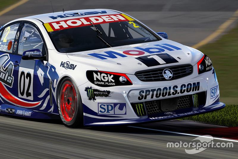 Das Design zum 25. Jubiläum des Holden Racing Teams