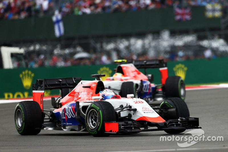 Will Stevens, Manor F1 Team.
