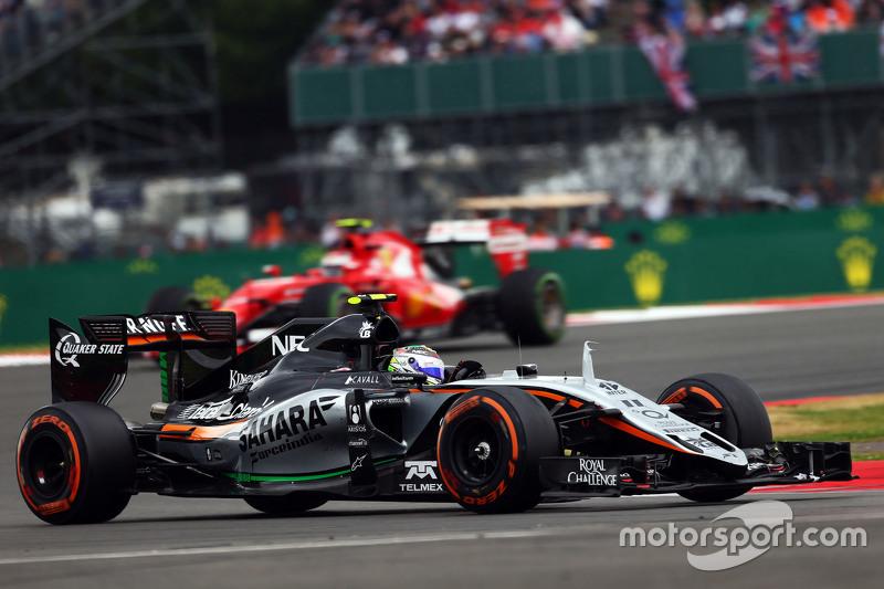 Sergio Perez, Sahara Force India F1 VJM08.