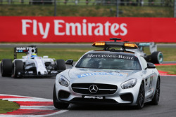 Felipe Massa, Williams FW37 aan de leiding achter de safety car