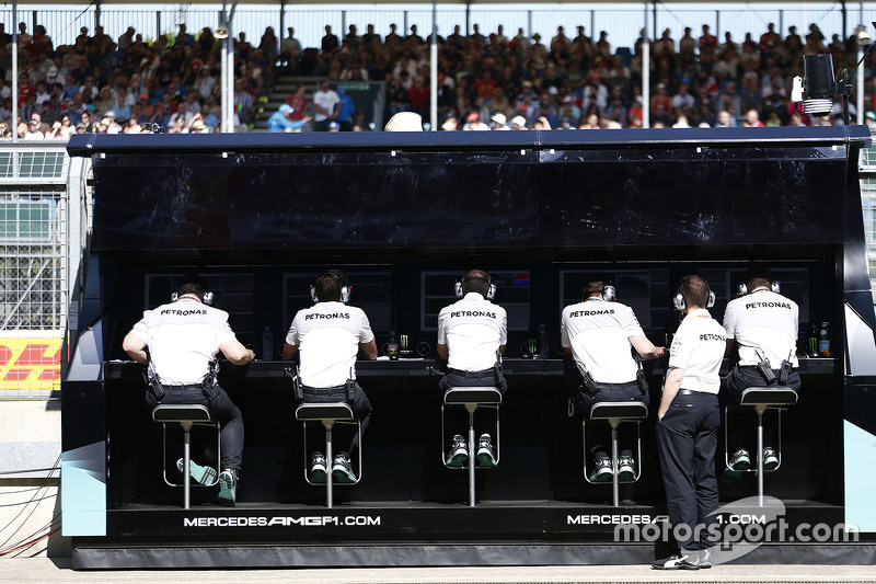 Mercedes AMG F1 Team командний місток