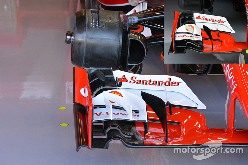 Technical analysis: Ferrari front wing