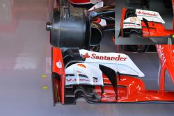 Technische analyse: Ferrari voorvleugel
