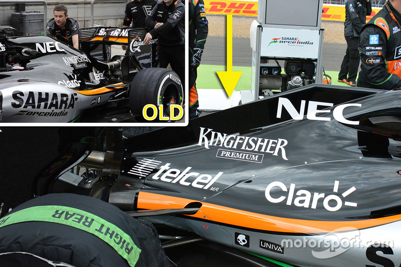 Analisis teknis: Force India engine cover