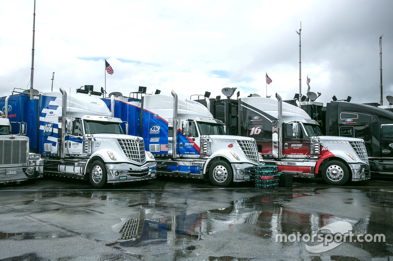 NASCAR haulers