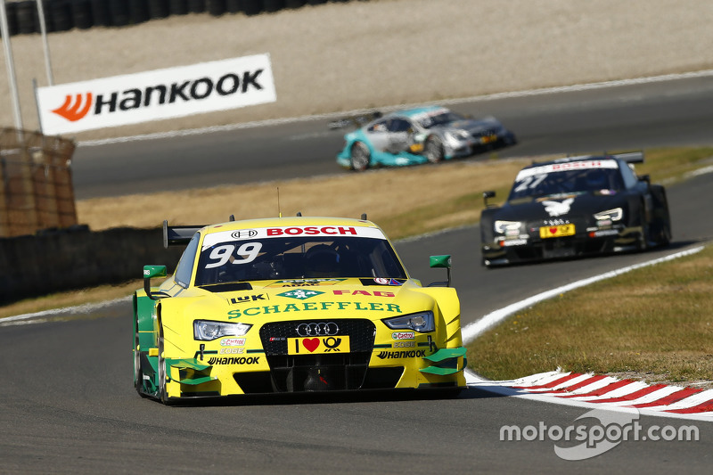 Майк Роккенфеллер, Audi Sport Team Phoenix Audi RS5 DTM та Едріен Тамбе, Audi Sport Team Abt Audi RS