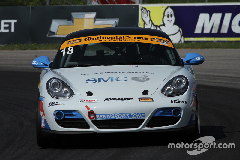 #18 RS1 Porsche Cayman: Jon Miller, Adam Isman