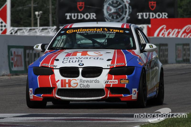 #46 Fall-Line Motorsports BMW M3: Trent Hindman, Ashley Freiberg
