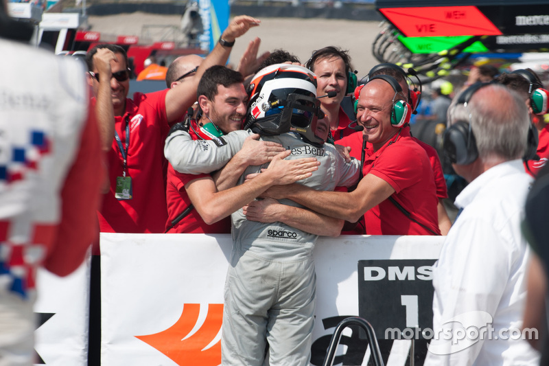 Race 2 Winner: Felix Rosenqvist, Prema Powerteam Dallara Mercedes-Benz
