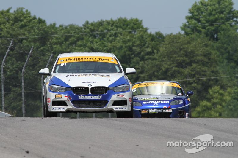 #81 BimmerWorld Racing BMW328i: та rie Hartanto, Tyler Cooke