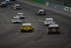 Rennaction auf dem Kentucky Speedway