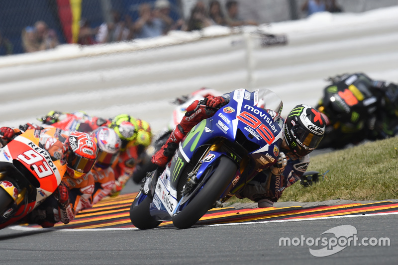 Jorge Lorenzo, Yamaha Factory Racing and Marc Marquez and Dani Pedrosa, Repsol Honda Team