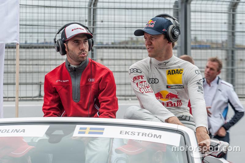 Miguel Molina ve Mattias Ekström, Audi Sport - Takım: Abt Sportsline Audi RS 5 DTM