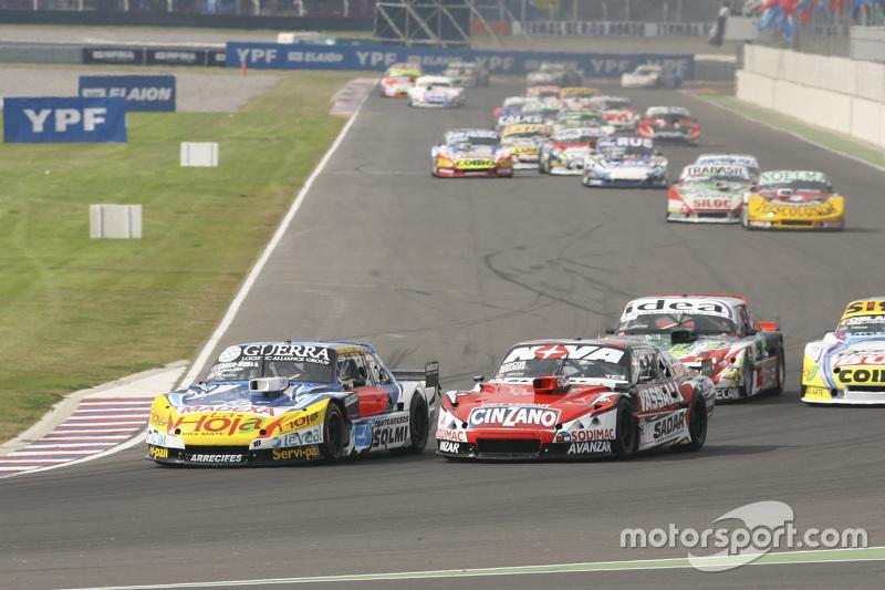 Luis Jose di Palma, Inde car Racing Torino, dan Matias Rossi, Donto Racing Chevrolet