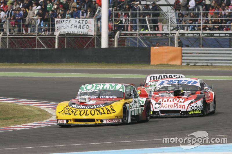Nicolas Bonelli, Bonelli Competicion Ford, dan Guillermo Ortelli, JP Racing Chevrolet, dan Mariano Altuna, Altuna Competicion Chevrolet