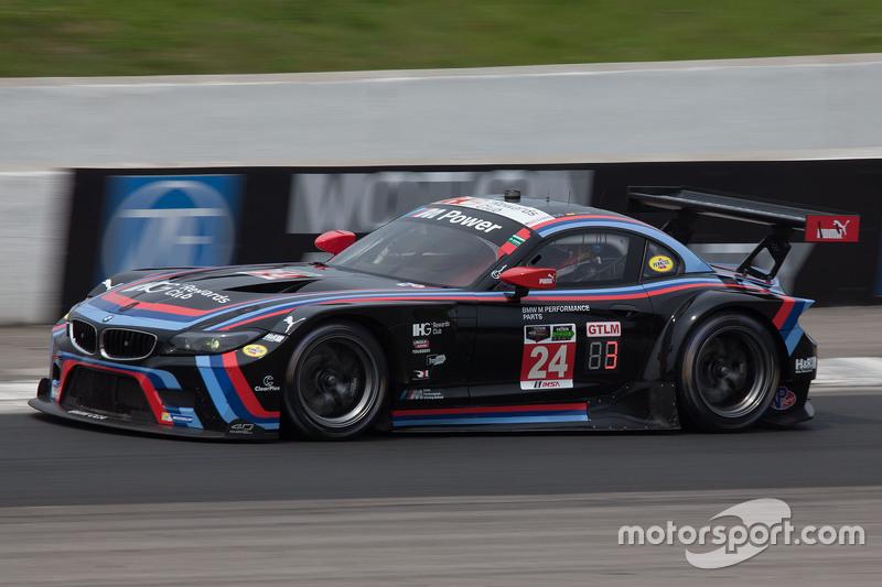 #24 BMW Team RLL BMW Z4 GTE: John Edwards, Lucas Luhr