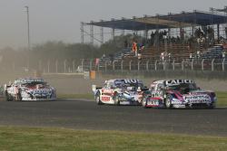 Emanuel Moriatis, Alifraco Sport Ford and Gabriel Ponce de Leon, Ponce de Leon Competicion Ford and Camilo Echevarria, Coiro Dole Racing Torino