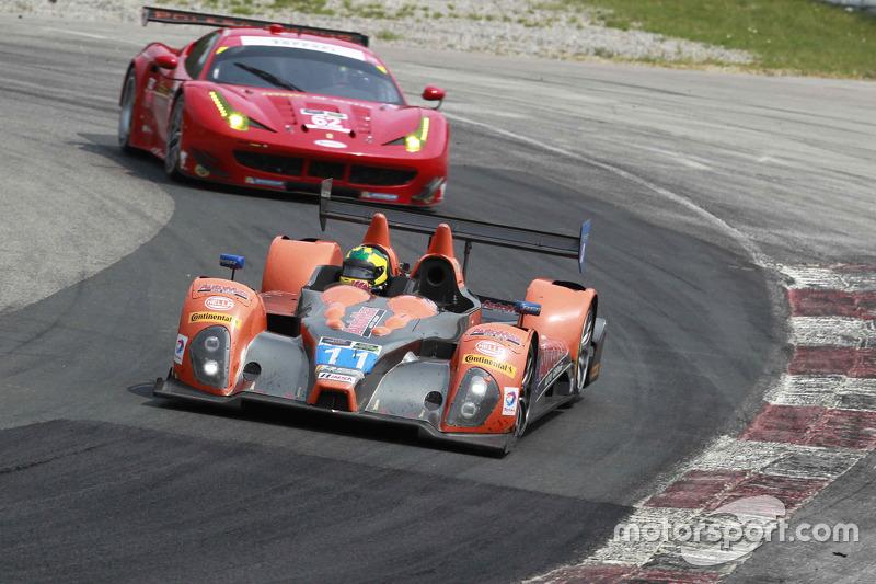 #11 RSR Racing Oreca FLM09 Chevrolet: Chris Cumming, Bruno Junqueira, Gustavo Menezes