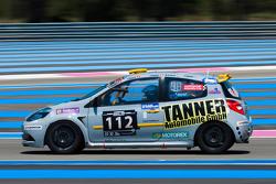#112 Renault Clio Cup: Luigi Stanco, Stefan Tanner, Sarah Toniutti, Christian Dijkhof