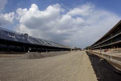 Autódromo Hermanos Rodríguez, obras recta principal