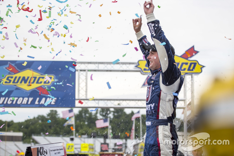 Race winner William Byron