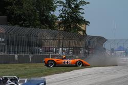 1970 Lola T165 Jim Ferro crash sequence