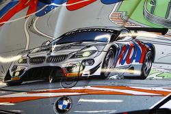 La livrée Michel Vaillant sur la BMW Z4 GT3 ROAL Motorsport