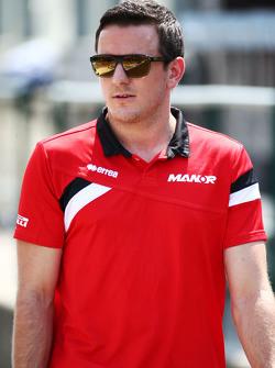 Fabio Leimer, Manor F1 Team Test- und Ersatzfahrer