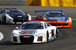 #6 Phoenix Racing Audi R8 LMS : André Lotterer, Marcel Fässler, Mike Rockenfeller